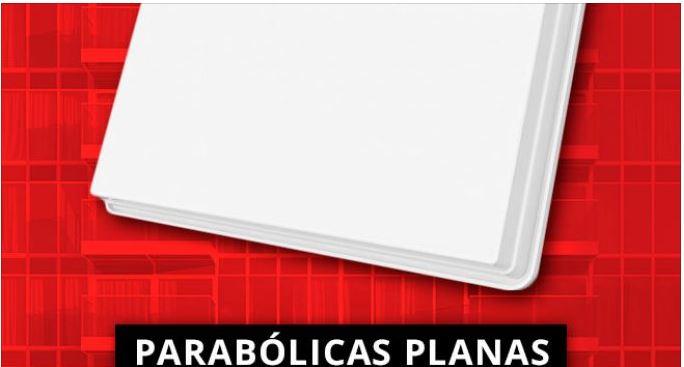 Antena parabólica plana instalación