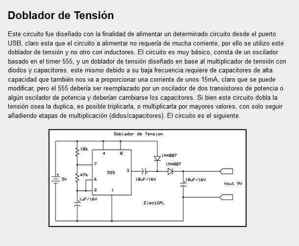 Circuito detector de tensión