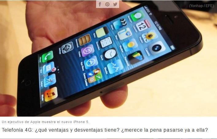 Los últimos avances en la Telefonía móvil