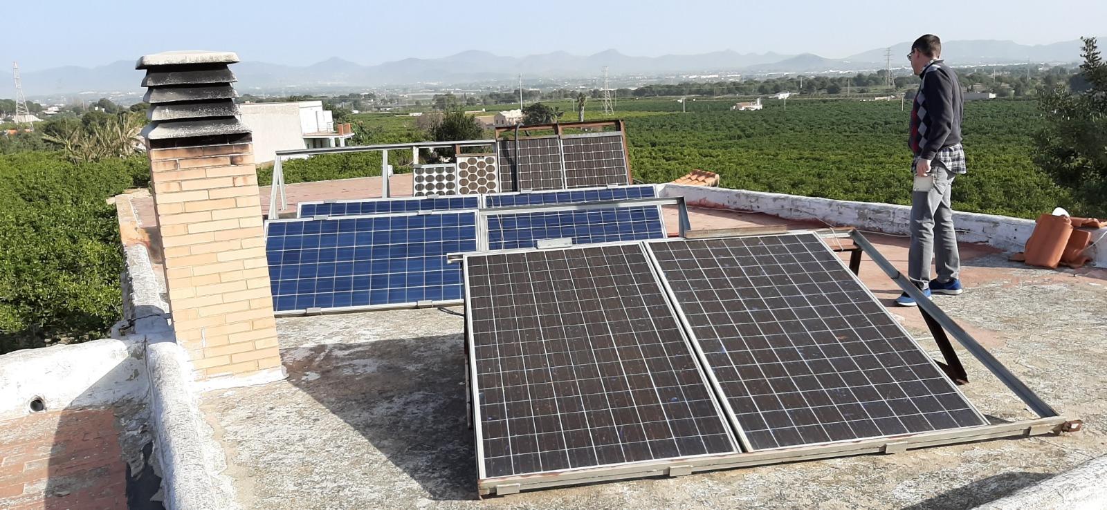 Paneles solares RF Torrent