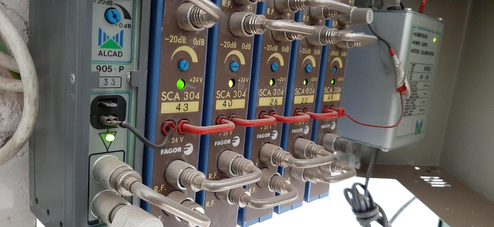 Instalación antenas RF Torrentnt
