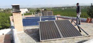 Energía solar en Paterna