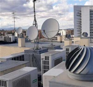 Instalacion antenas parabólicas en Burjassot