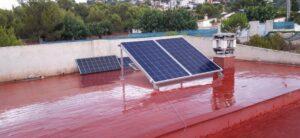 Instalación solar fotovoltaica en chalets